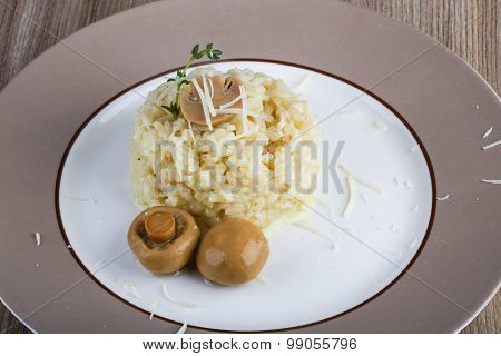 Risotto With Mushroom