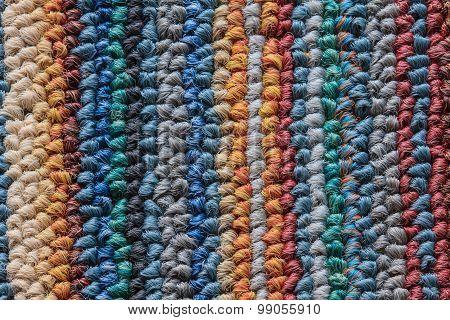 Texture Of Doormat