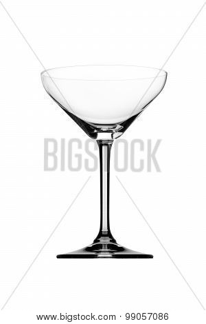 cocktail glass isolated on white background