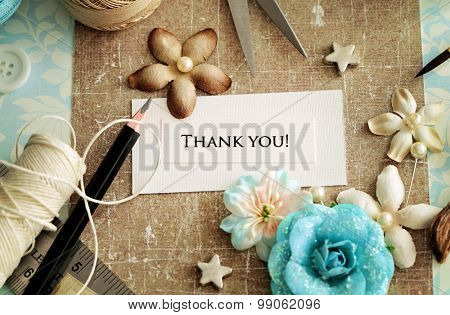 making of greeting card