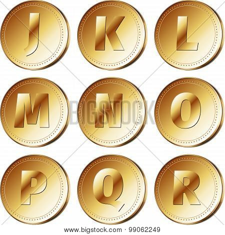 Coins with letters - part 2