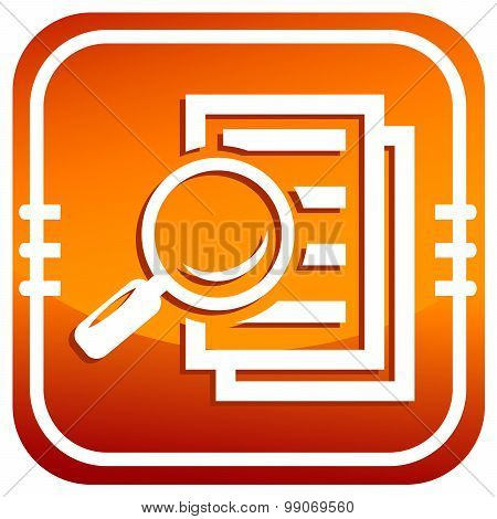 Magnifying Glass - Search The Document.