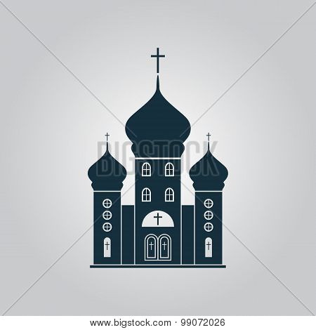 Vector church icon