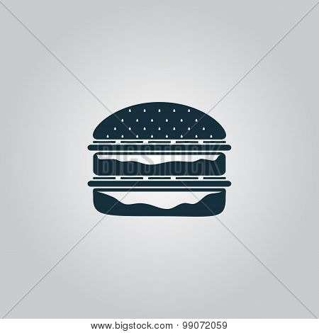 Hamburger web icon