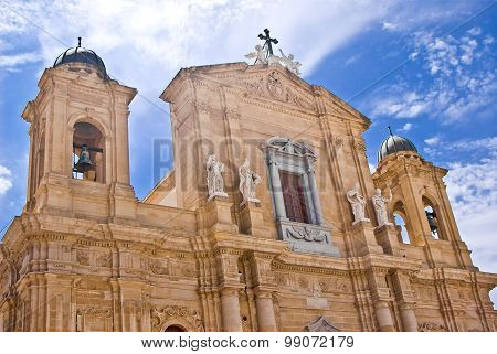 Cathedral Of Marsala, Italy
