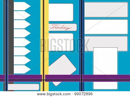 Bulletin Board for labels