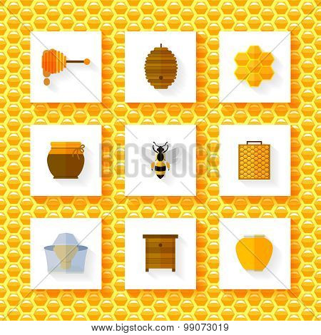 Honey elements set