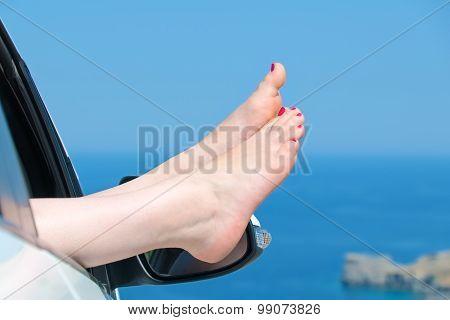 Female Bare Feet
