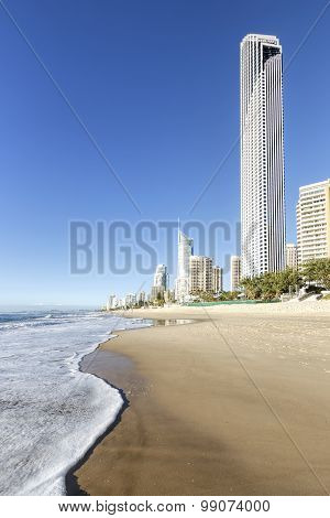 Surfers Paradise beachfront, Gold Coast, Australia