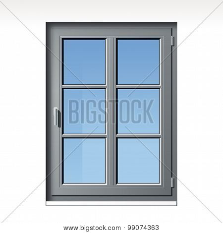 gray vector window