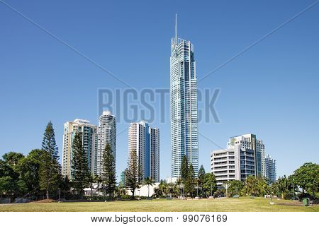 Surfers Paradise high rise buildings, Gold Coast