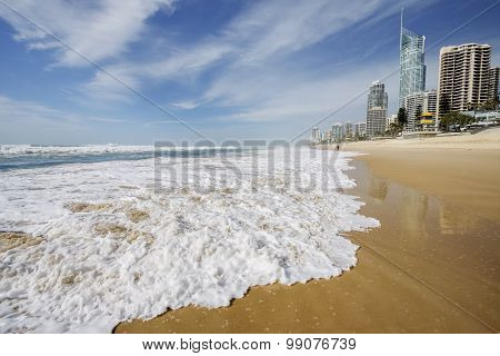 Surfers Paradise beachfront, Gold Coast
