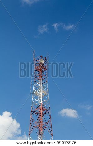 Telecommunications Antenna Tower