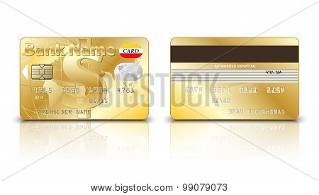 Gold Dollar Credit Card