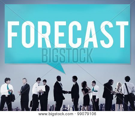 Forecast Prediction Precision Probability Future Concept