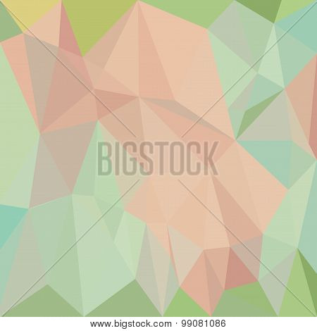 Abstract colorful white background with triangles geometric paper