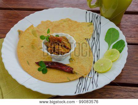 Khakra For Breakfast