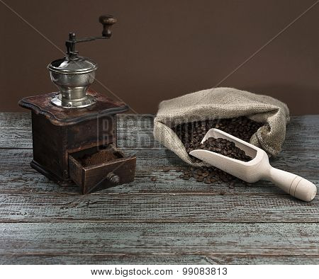Old fashioned Coffee Grinder