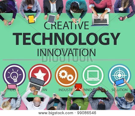 Creative Technology Innovation Media Digital Concept