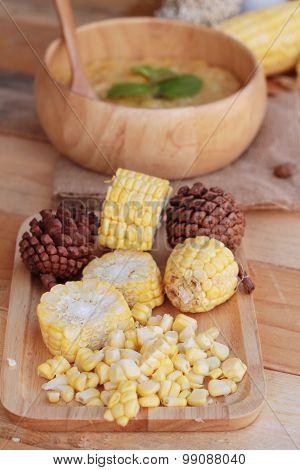 Corn Soup Ingredients