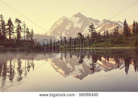 Mount Shuksan,Washington