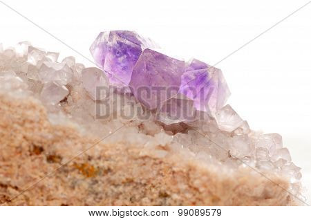 Amethyst Mineral Sample