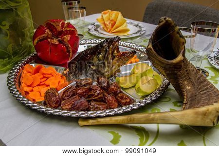 Jewish holidays Rosh-ha-Shana