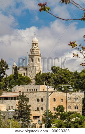 Israel Jerusalem Dormition Abbey April 4, 2015