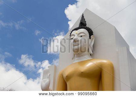 Buddha Statue In Phitsanulok Thailand