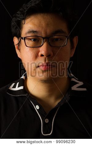 Asian Chinese Guy Portrait