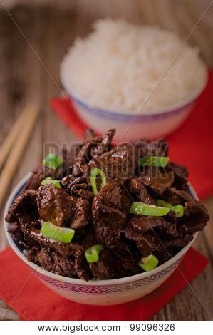 Chinese Food Soy Sauce Cooked Beef With Star Anise