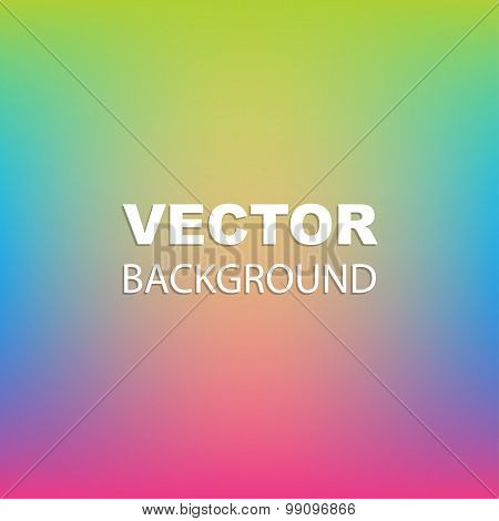 Vivid colors abstract background vector image