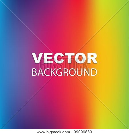 Spectrum colors abstract background vector image