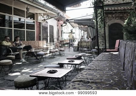Street Scene, Sarajevo
