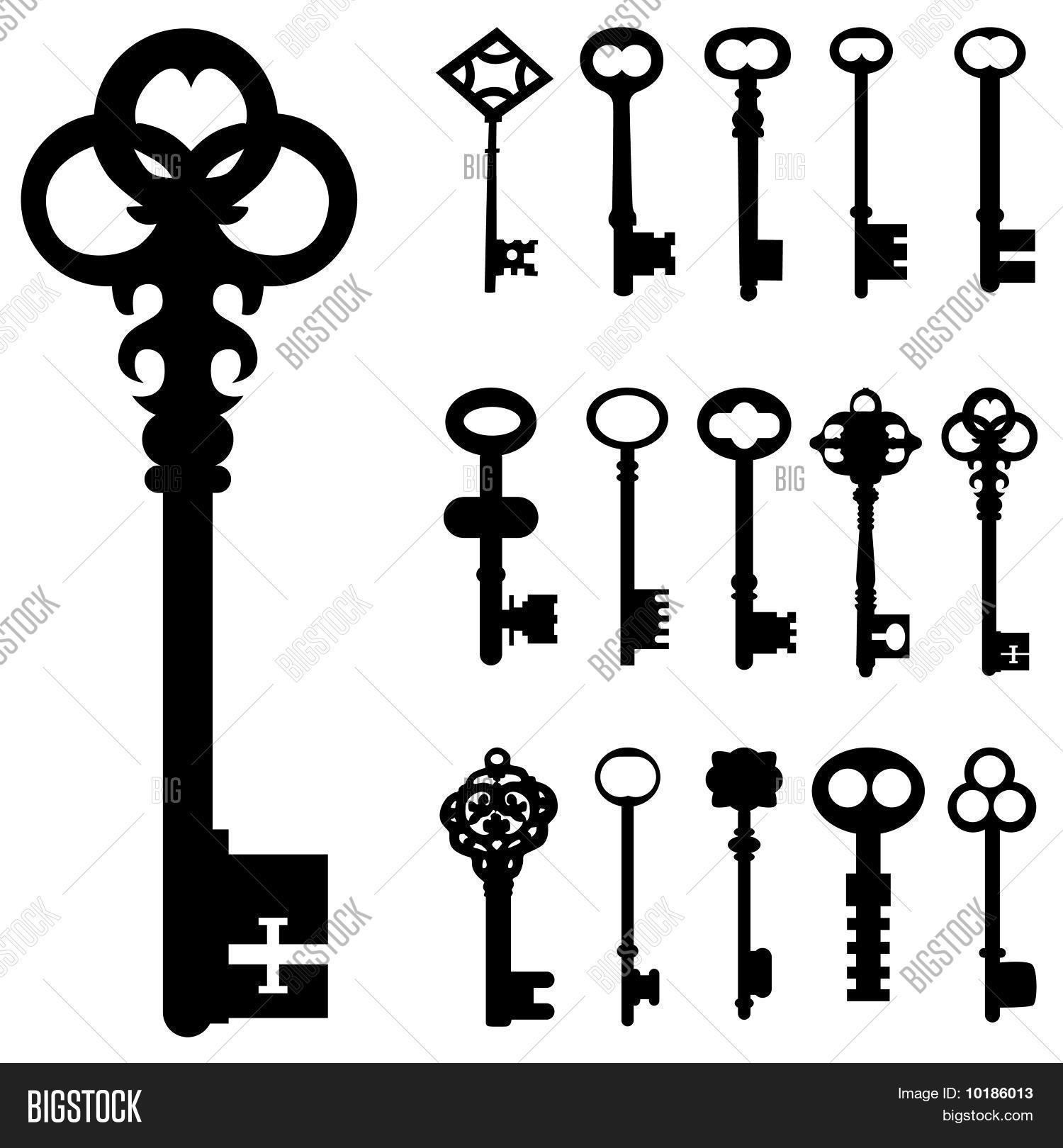 Set Of Key Vector