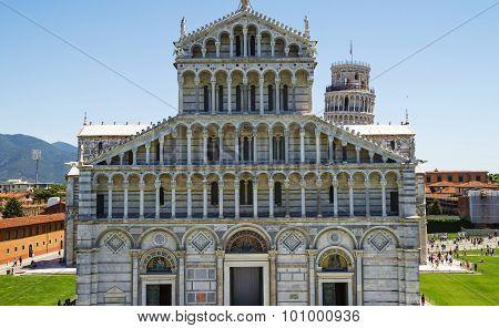 Piazza dei Miracoli in Pisa ,Italy