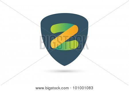 Abstract Z character vector logo icon template. Power z vector, z letter logo, web studio, design studio, round shape, z logo icon, company z logo, abstract logo, design element, creative idea