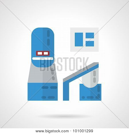 Colored vector icon for MRI equipment