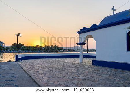 Chapel Faliraki Rhodes Greece