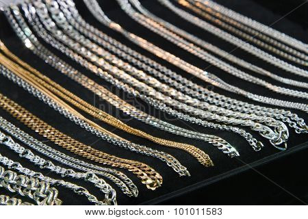 Gold And Silver Chains