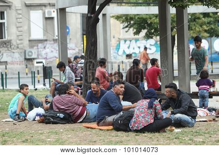 Refugees In Belgrade