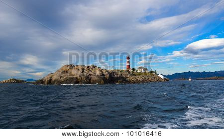 Lighthouse On Norwegian Island Skrova