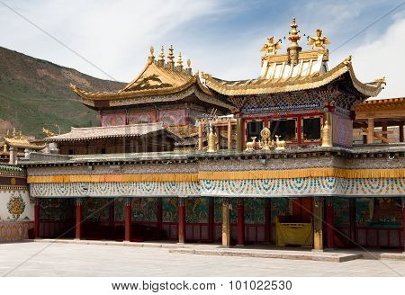 Tongren Monastery Or Longwu Monastery, China