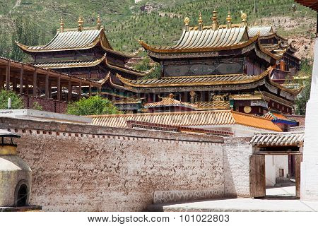 Tongren Monastery Or Longwu Monastery, China