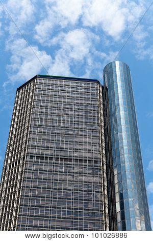 General Motors Headquarters in downtown Detroit, Michigan