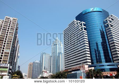 Shenzhen Stadtansicht, china