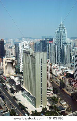 Stadtansicht in Shenzhen, china