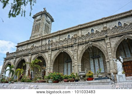 Stone Church, Ancient Cathedral, Nha Trang, Vietnam