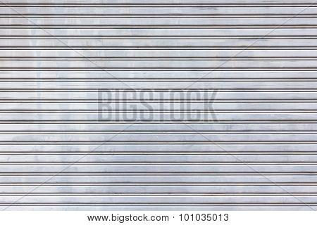 Metal Roller Door Shutter Background And Texture