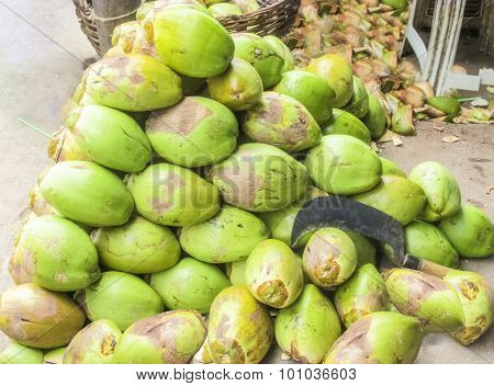 Coconuts For Coconut Water